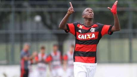 Vinícius Júnior foi um dos destaques do Flamengo (Gilvan de Souza)