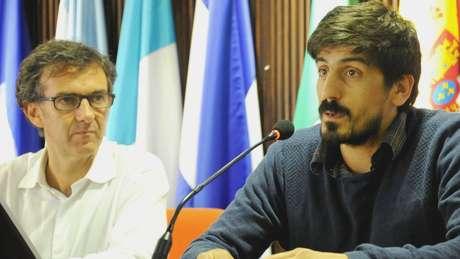 Em 2010, foi criada a Comissão Setorial de População, coordenada por Pablo Álvarez (direita) e com participação de Juan José Calvo.