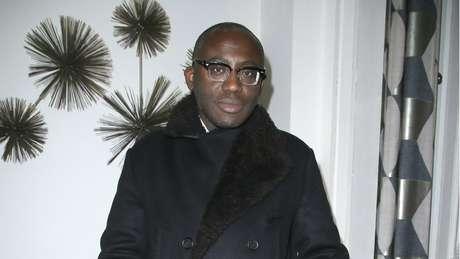 O estilista Edward Enninful é o primeiro homem e a primeira pessoa negra a assumir o comando da Vogue britânica