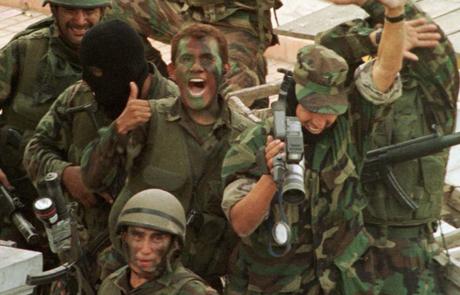Héroes nacionales.