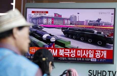 Videos: Corea del Norte mostró al mundo su poderío militar