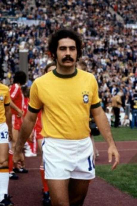 Rivellino defendeu o Corinthians durante nove anos e foi campeão com a Seleção Brasileira em 1970