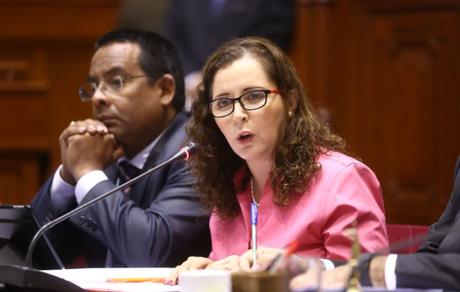 Eligen a Rosa Bartra como presidenta de la Comisión Lava Jato