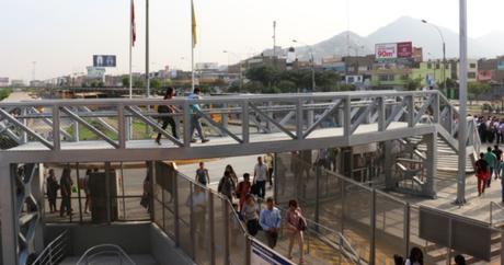 Estructura permitirá el acceso de unas cinco mil personas que usan diariamente el Metropolitano.