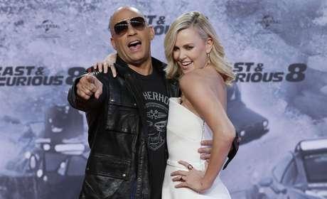 Vin Diesel y Charlize Theron, protagonistas de la película