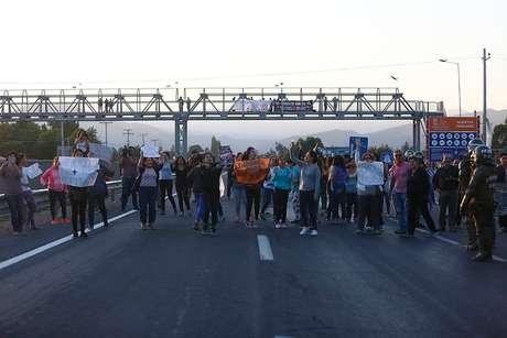 Alcalde de Til Til fue detenido durante manifestaciones por nuevo relleno sanitario