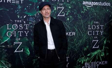 """Brad Pitt en la presentación en Los Angeles de """"The Lost City of Z"""""""