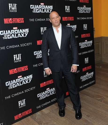 Vin Diesel es 'Groot' en Guardianes de la Galaxia Volumen 2.