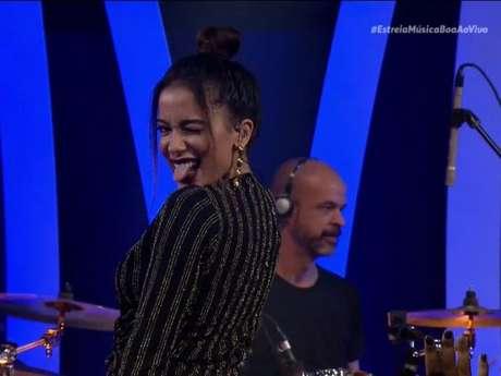 """Com Anitta, estreia do """"Música Boa Ao Vivo"""" conta com Luan Satana, Matheus & Kauan e Anavitória"""