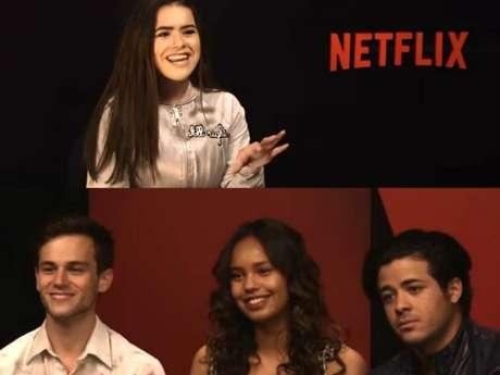 """Maisa Silva entrevista elenco de """"13 Reasons Why"""" para o Youtube!"""