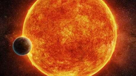 A estrela anã vermelha LHS 1140 gira mais lentamente e emite menos radiação de alta energia que outras estrelas semelhantes