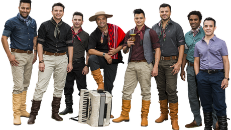 Grupo Tchê Garotos interpreta canção que foi alvo de críticas de apresentadora no Rio Grande do Sul