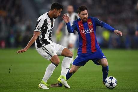Imagen del partido de ida entre el Barcelona y la Juventus
