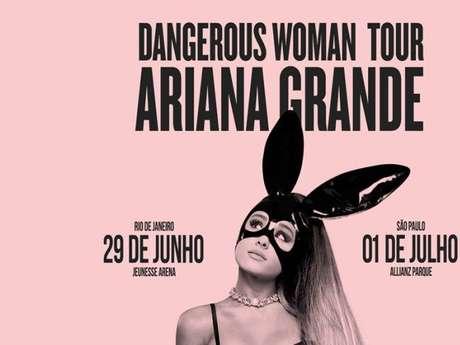 A produção de Ariana Grande finalmente divulga o valor dos ingressos para shows no Brasil!
