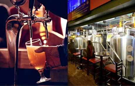 Que tal realizar um tour por uma cervejaria e degustar os principais rótulos da casa?