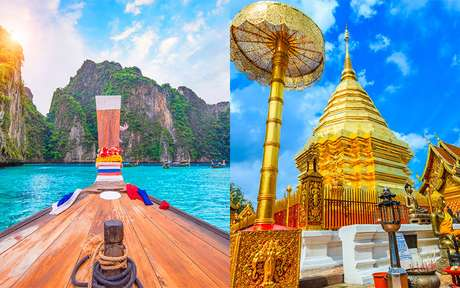 A Tailândia como você nunca viu: vilarejos rústicos, templos incríveis e praias paradisíacas!