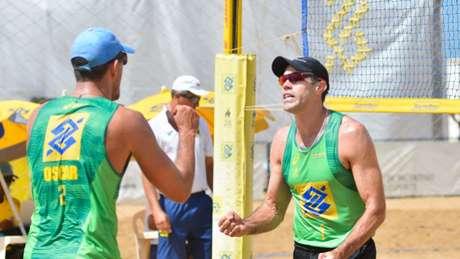 Oscar e Hevaldo são a única dupla brasileira na etapa chinesa MPIX/CBV