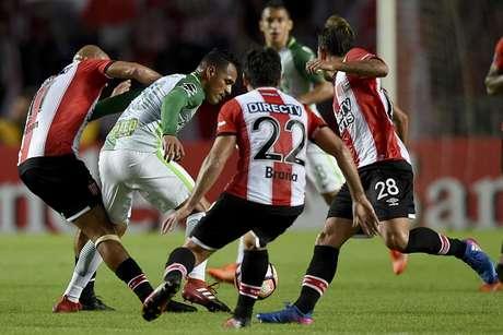 Estudiantes trinfa 1-0 ante el Atlético Nacional