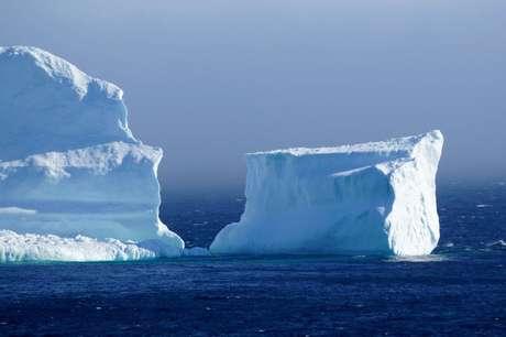 Icebergs encalhados são uma ótima notícia para agências de turismo