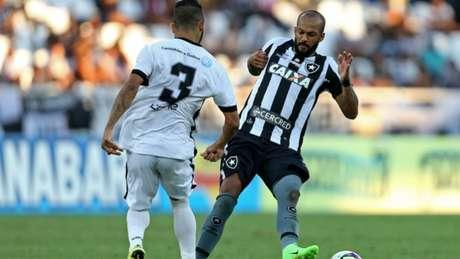 Bruno Silva pode pegar gancho pesado por expulsão na final da Taça Rio (Foto: Vítor Silva/SSPress/Botafogo)