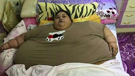 Até fevereiro, a egípcia Eman Abd El Aty, de 36 anos, era a mulher mais pesada do mundo.