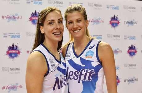 Tijana Malesevic e Ana Bjelica disputarão sua primeira final de Superliga amanhã, no clássico contra o Rexona-Sesc. E elas querem guardar boas memórias do Brasil Luiz Pires/Fotojump