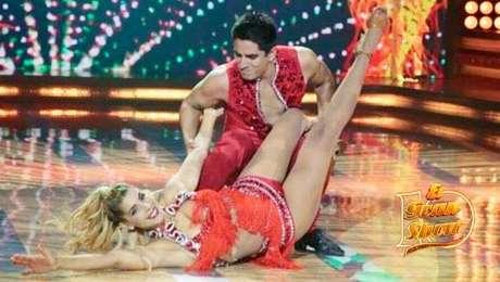 Viviana Rivasplata sufre caída en baile — El Gran Show