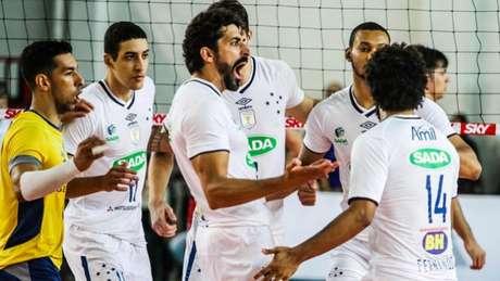Sada Cruzeiro chega a sua sétima final consecutiva Bruno Miani/Inovafoto/CBV