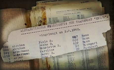 Na Europa Ocidental, os nazistas mantiveram registros das vítimas, tais como a lista de deportação de Frankfurt para Thereisenstadt.
