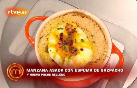 El plato que presentó Paloma