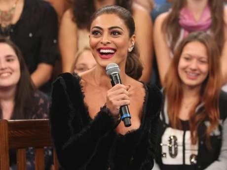 Sorriso de Juliana Paes custa até R$ 56 mil