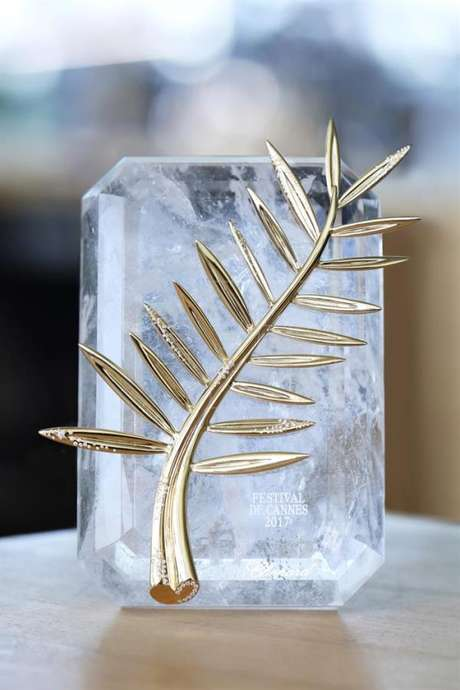 La codiciada Palma de Oro del Festival de Cannes, que celebrará su 70 edición entre 17 y 28 de mayo de 2017.