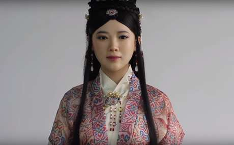 El robot humanoide Jia Jia