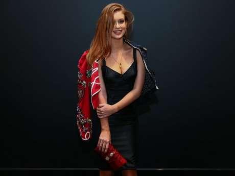 'Foi super bacana ir à temporada de moda internacional e também desfilar para a Dolce em Milão', lembrou Marina Ruy Barbosa duranteevento da grife Dolce & Gabbana, em São Paulo, na noite desta terça-feira, 25 de abril de 2017