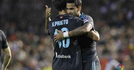 Willian José chegou a 12 gols no Campeonato Espanhol (Foto: Reprodução / Twitter)