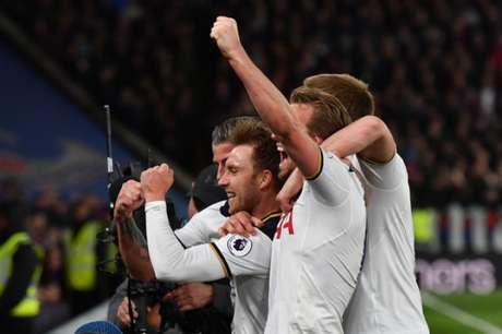 Tottenham venceu o Palace (Foto: Ben STANSALL / AFP)