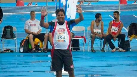 Wagner Pires conquistou o ouro nos 50m livre no Parapan Rio-2007