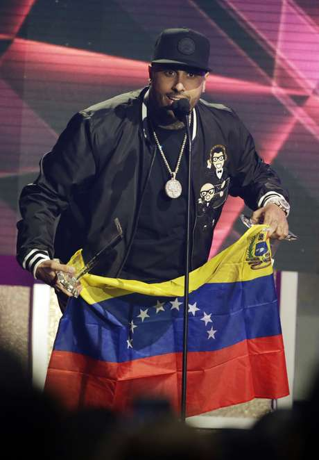 Nicky Jam lleva a los venezolanos en su corazón.