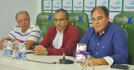 Nei foi apresentado como executivo de futebol do Guarani (Foto: Guarani Press / Divulgação)
