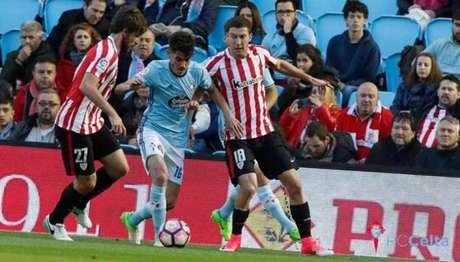Athletic Bilbao foi soberano diante do Celta de Vigo (Foto: Reprodução / Twitter)