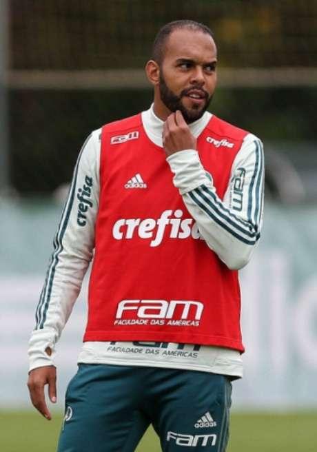 Alecsandro pode estar de saída rumo ao Bahia (Foto: Agência Palmeiras)