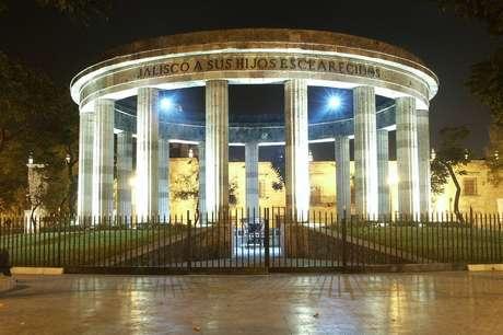 Cinzas do arquiteto estão depositadas neste monumento em Guadalajara