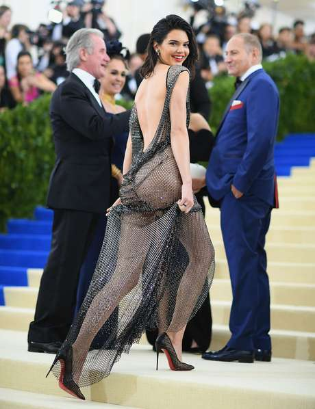 El vestido de Kendall Jenner en la MET Gala 2017.