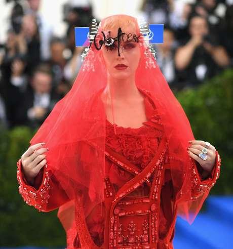 El look de Katy Perry.