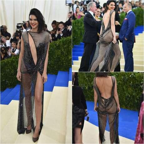 Kendall Jenner en la MET Gala 2017.