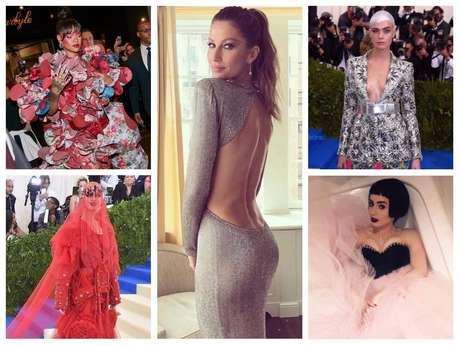 Looks das famosas em evento de gala deram o que falar nas redes sociais