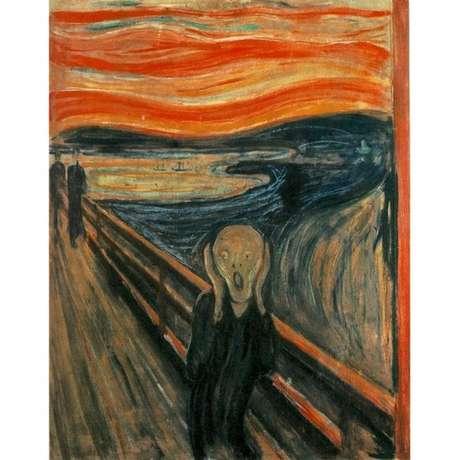 Pensava-se que obra de Munch refletia efeitos de uma erupção