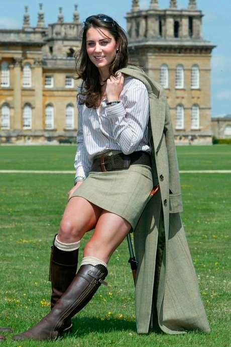 Katy e seu inseparável par de botas