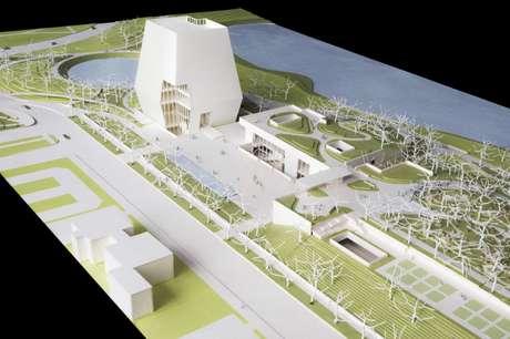 El diseño de la futura biblioteca y museo presidencial de Obama.