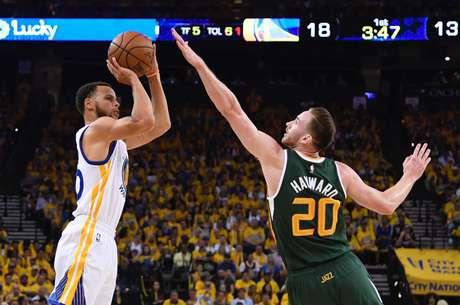 Playoffs NBA: Golden State Warriors vs Utah Jazz
